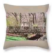 Aboratorium Bridge Throw Pillow