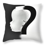 Abortion Or Contraception Throw Pillow
