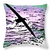 Above The Waves Throw Pillow