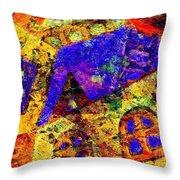 Abs 0435 Throw Pillow