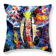 Abs 0437 Throw Pillow