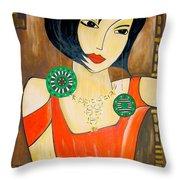 Women 447 - Marucii Throw Pillow