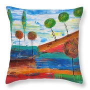 Abs 0455 Throw Pillow