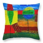 Abs 0456 Throw Pillow