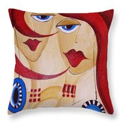Abs 0458 Throw Pillow