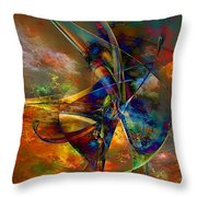 Abs 0496 Throw Pillow