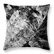 Abs 0575 Throw Pillow