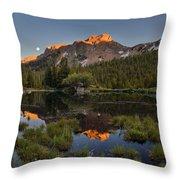Absaroka Range Reflection Throw Pillow
