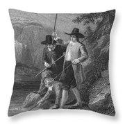 Absolon: Fishermen Throw Pillow