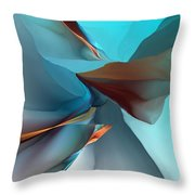 Abstract 011612 Throw Pillow