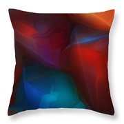Abstract 012712 Throw Pillow