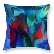 Abstract 021612 Throw Pillow