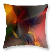 Abstract 021912a Throw Pillow