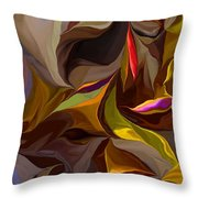 Abstract 022212 Throw Pillow