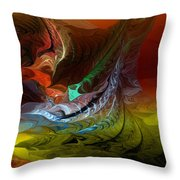 Abstract 022712 Throw Pillow