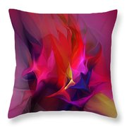Abstract 031412 Throw Pillow