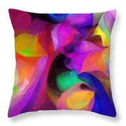 Abstract 041412 Throw Pillow