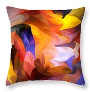 Abstract 050312 Throw Pillow
