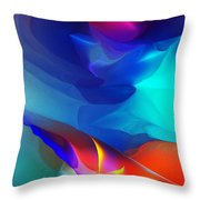 Abstract 060312 Throw Pillow