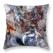 Abstract 060412 Throw Pillow