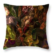 Abstract 061512 Throw Pillow