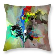 Abstract 082412-1 Throw Pillow