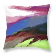 Abstract 082511 Throw Pillow