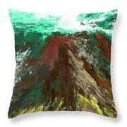abstract 082511A Throw Pillow