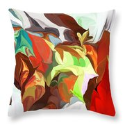 Abstract 090112 Throw Pillow