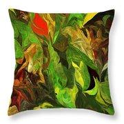 Abstract 090512a Throw Pillow