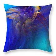 Abstract 090711 Throw Pillow