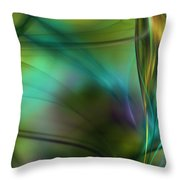 Abstract 090711a Throw Pillow