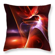 Abstract 091011 Throw Pillow
