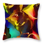 Abstract 091412 Throw Pillow