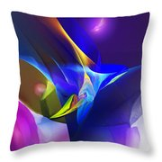 Abstract 091612 Throw Pillow