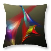 Abstract 091612a Throw Pillow