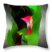Abstract 091912a Throw Pillow