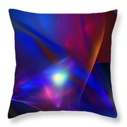 Abstract 092111 Throw Pillow