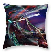 abstract 092111A Throw Pillow