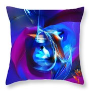 Abstract 092612 Throw Pillow