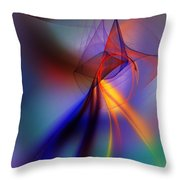 Abstract 101211 Throw Pillow