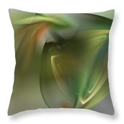 Abstract 101311f Throw Pillow