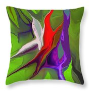 Abstract 101511 Throw Pillow