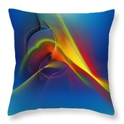 Abstract 101711 Throw Pillow