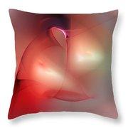 abstract 101811A Throw Pillow