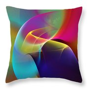Abstract 102511 Throw Pillow