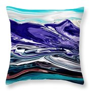 Abstract 102711 Throw Pillow