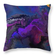 Abstract 112711a Throw Pillow