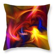abstract 112811A Throw Pillow