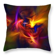 Abstract 112811b Throw Pillow